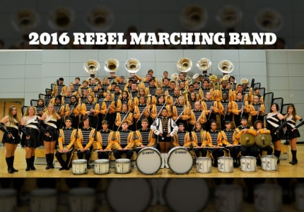Photo depicting 2016 Rebel Marching Band