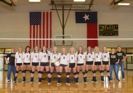 Photo depicting 18-19 Lady Rebel Varsity Volleyball