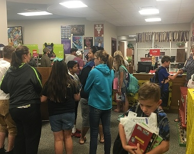 Photo depicting Book Fair April 25