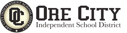 Logo for Ore City Independent School District - Ore City, Texas