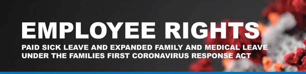 Families First Coronavirus Response Act - Employee Rights