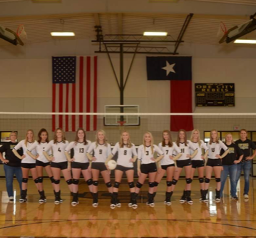 Photo depicting Lady Rebels Volleyball 2018