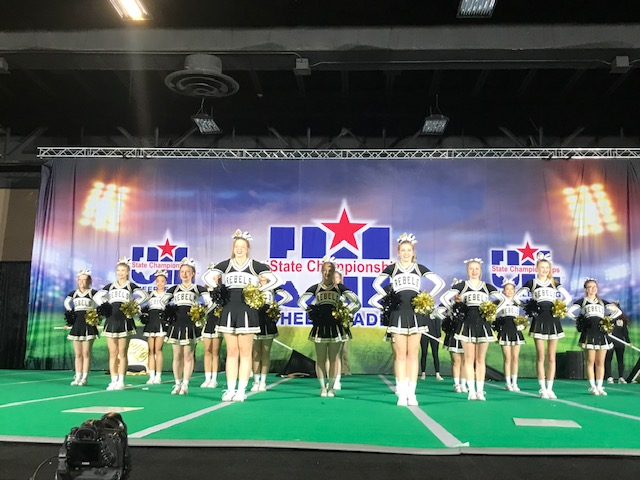 Photo depicting OCHS Cheerleaders Compete at UIL Competition in Ft. Worth
