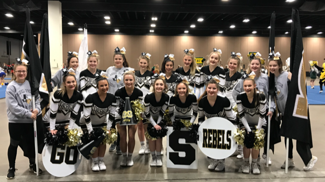 Photo depicting Varsity Cheer Team Finishes 16th in State of Texas UIL 3A Cheer Competition